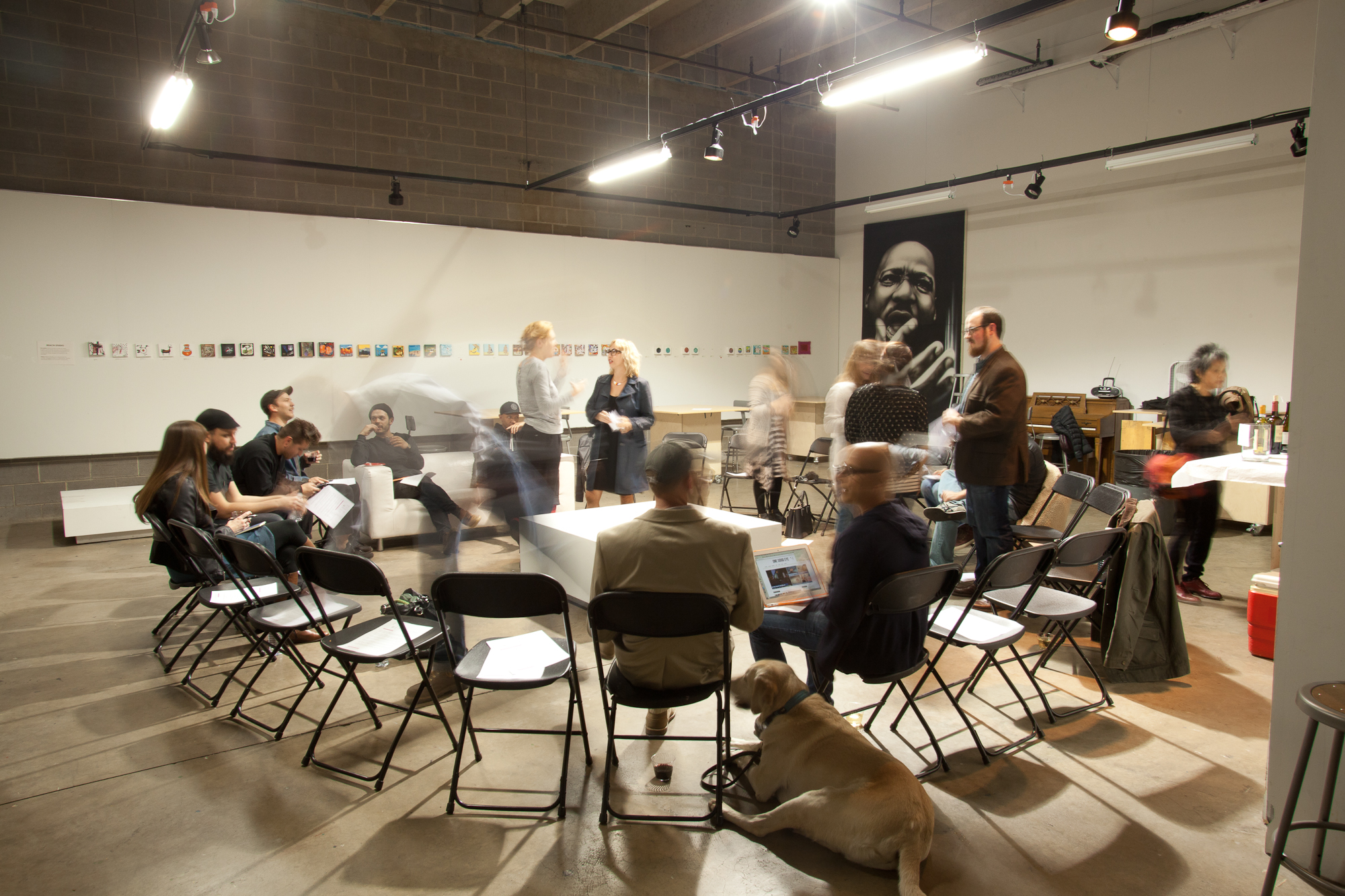 Photo of a Tilt West roundtable discussion, by Justin Wambold