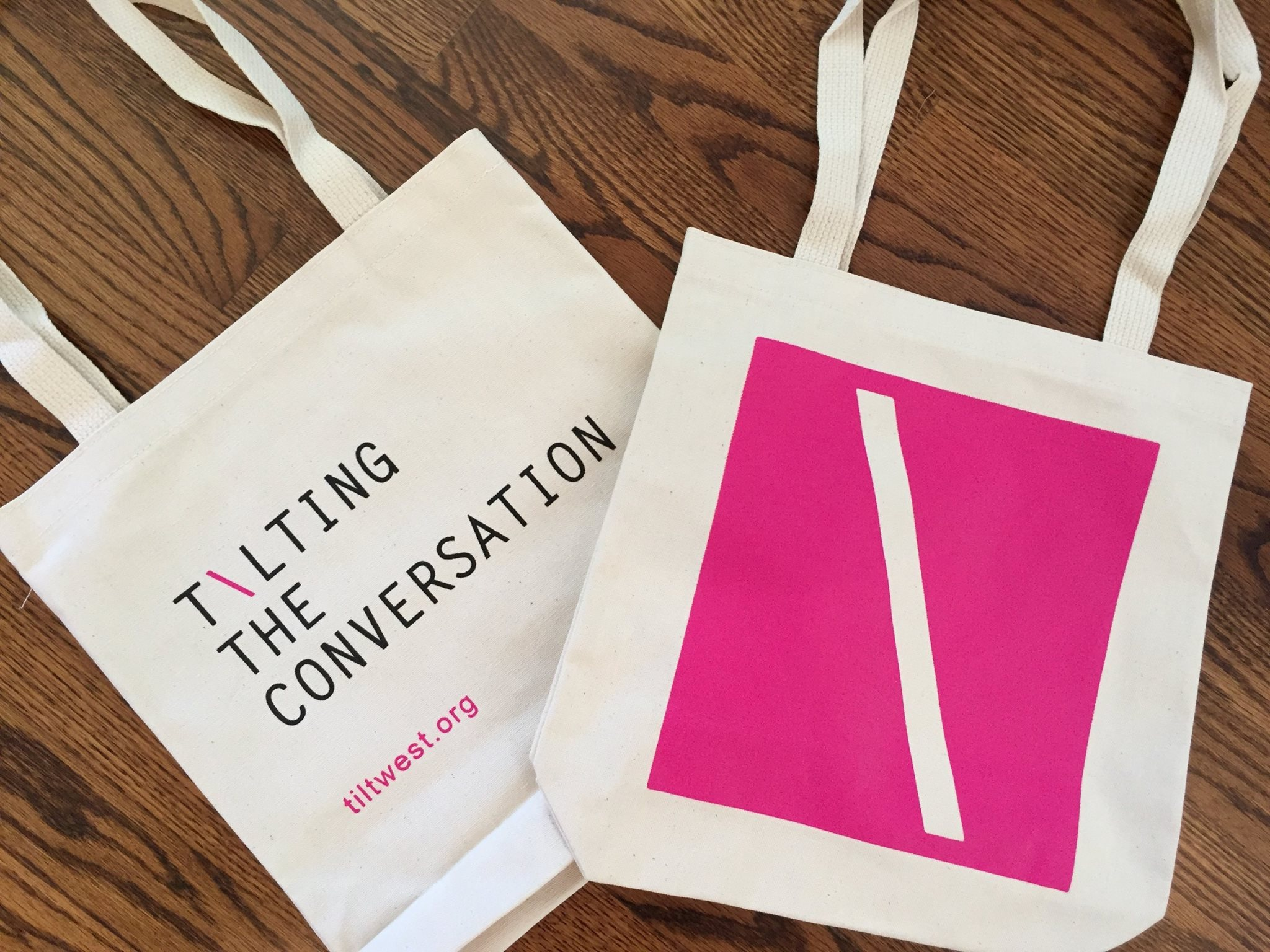 Photo of Tilt West tote bags